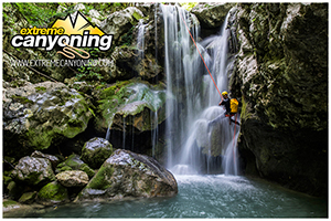 LATEST VIDEO FROM THE EXTREME CANYONING SEASON 2016!!!