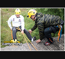Trening kamp 25. maj, Photo by: Extreme Canyoning Team