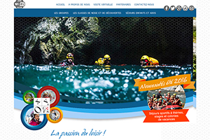 EXTREME CANYONING TEAM ON FRENCH WEBSITE OXYGERS