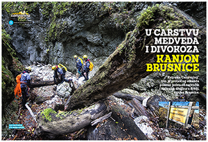 CANYON BRUSNICA IN X-SPORTS & OUTDOOR MAGAZINE
